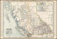Canada Map By George F. Cram