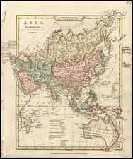 Asia, Asia, Southeast Asia, Australia & Oceania and Australia Map By Robert Wilkinson