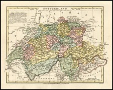 Europe and Switzerland Map By Robert Wilkinson