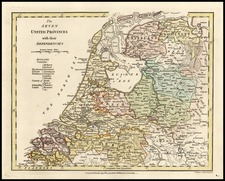 Europe and Netherlands Map By Robert Wilkinson