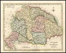 Europe, Hungary, Romania and Balkans Map By Robert Wilkinson