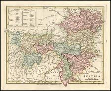 Europe, Switzerland, Austria and Balkans Map By Robert Wilkinson