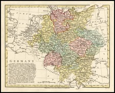 Europe and Germany Map By Robert Wilkinson