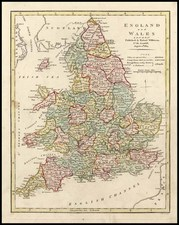 Europe and British Isles Map By Robert Wilkinson