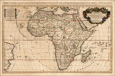 Africa and Africa Map By Alexis-Hubert Jaillot