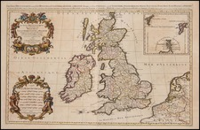Europe and British Isles Map By Alexis-Hubert Jaillot