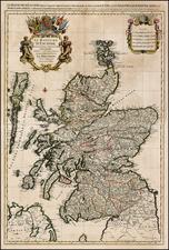 Scotland Map By Alexis-Hubert Jaillot