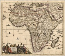 Africa and Africa Map By Frederick De Wit