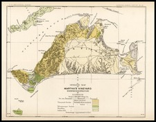 New England Map By U.S. Geological Survey
