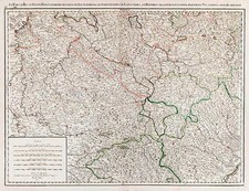 Europe, France and Germany Map By Jean André Dezauche