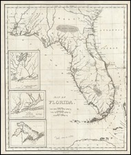 Southeast Map By William Darby