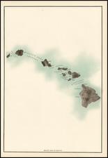 Hawaii and Hawaii Map By Rand McNally & Company