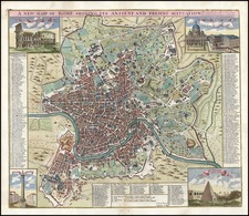Europe and Italy Map By John Senex / John Harris