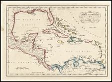 Caribbean Map By Don Juan Lopez