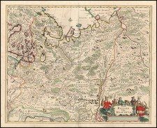 Europe, Poland and Russia Map By Frederick De Wit