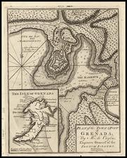 Caribbean Map By London Magazine