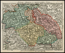 Czech Republic & Slovakia Map By Tobias Conrad Lotter / Tobias Lobeck