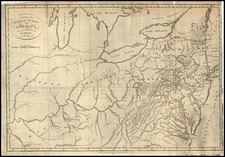 Mid-Atlantic, South and Midwest Map By Thomas Conder
