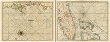 Florida, South, Southeast and Caribbean Map By Thomas Jefferys