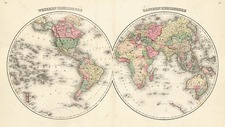 World and World Map By H.H. Lloyd