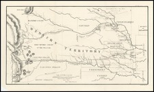Midwest, Plains, Southwest and Rocky Mountains Map By Col. Henry P. Dodge  &  Lt. Enoch Steen