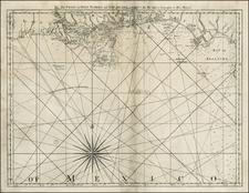 South and Southeast Map By Thomas Jefferys
