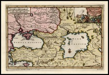 Europe, Russia, Ukraine, Balearic Islands, Asia and Central Asia & Caucasus Map By Pieter van der Aa