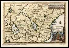 Africa, North Africa and East Africa Map By Pieter van der Aa