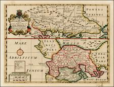 Greece Map By Edward Wells