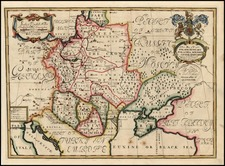 Europe, Poland, Russia, Hungary and Baltic Countries Map By Edward Wells