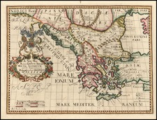 Europe, Russia, Balkans and Greece Map By Edward Wells