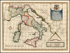 Europe and Italy Map By Edward Wells