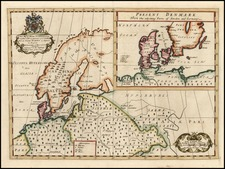 Europe, Baltic Countries and Scandinavia Map By Edward Wells