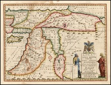 Europe, Turkey, Asia, Holy Land and Turkey & Asia Minor Map By Edward Wells