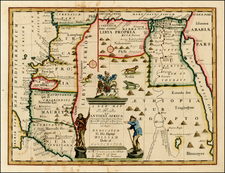 Africa, Africa and North Africa Map By Edward Wells