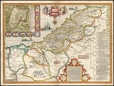 Asia and Holy Land Map By John Speed