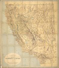 California Map By Josiah Dwight Whitney