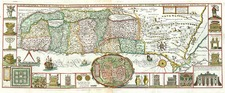 Asia and Holy Land Map By Jacobus Tirinus