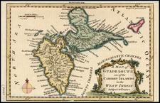Caribbean Map By London Magazine