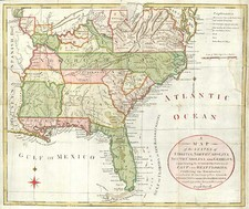 Mid-Atlantic, South, Southeast and Midwest Map By Joseph Purcell