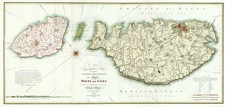 Europe, Mediterranean and Balearic Islands Map By William Faden
