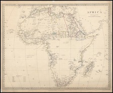 Africa and Africa Map By SDUK