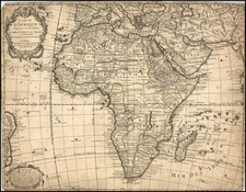 Africa and Africa Map By Philippe Buache