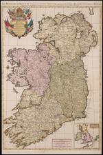 Ireland Map By Alexis-Hubert Jaillot