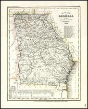 Southeast Map By Joseph Meyer
