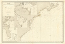 New England, Mid-Atlantic and Southeast Map By Aime Robiquet
