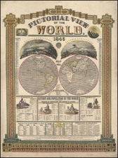 World, World and Curiosities Map By Humphrey Phelps