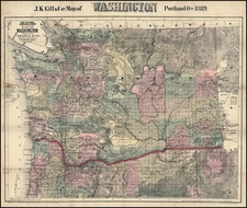 Map By J.K. Gill & Co.
