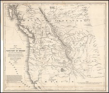 Rocky Mountains Map By Washington Hood