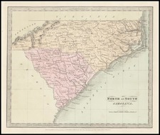 Southeast Map By David Hugh Burr